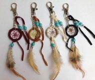 "1.5"" Dream Catcher Keychain"