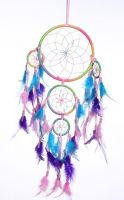 "6.5"" Dream Catcher with 4 Circles"