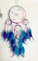 "4"" Dream Catcher with 4 Circles"