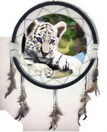 """24"""" Tiger Mandala (6 Assortment)"""