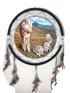 "24"" Mandala Wolf Assortment"