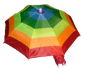 "22"" Rainbow Umbrella Hat"