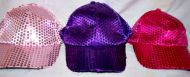 Sequin Baseball Hat 3 Colors
