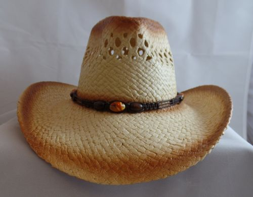 Handmade Hat with No Holes in Rim
