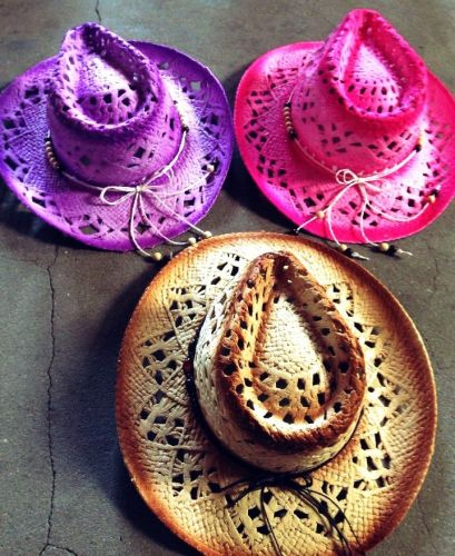 Handmade Hat with Holes in Rim