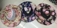 Flower Print Safari Hat