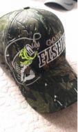 "Baseball Cap ""Gone Fishing"""
