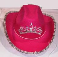 Light Up Youth Cowgirl Hat with Sequin 4 Color