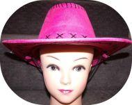 Cowgirl Hat 54 cm
