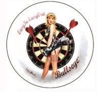 "12"" Round Metal Sign ""Bullseye"""