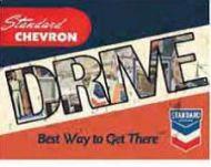 "12 x 15 Metal Sign ""Chevron Drive"""