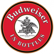 "15"" Dome Sign ""Budweiser"
