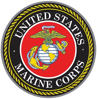 "15/"" Dome Metal Sign Marine Corps"