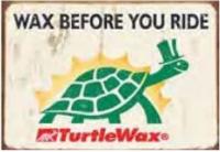 "12x15 Sign ""Turtle Wax"""