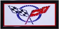 """LED Lights Sign """"Corvette"""""""
