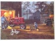 """12 x 15 Metal Sign """"Hadley Tractor-Common Ground"""""""