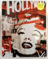 "12 x 15 Metal Sign ""Marilyn Red"""