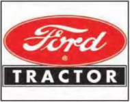 "12x15 Metal Sign ""Ford Tractor"""