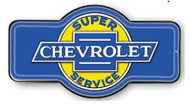 """LED Light Up Sign """"Chevy Marque"""""""