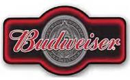 "LED Light Up Sign ""Budweiser Marque"""