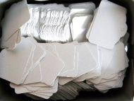 White Merchandise Tag