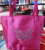 Girl Purse with Sequin Butterfly