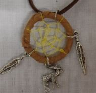 Necklace with Moose Charm