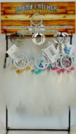 """36 pc. 1.5"""" Key Chain with Metal Stand"""