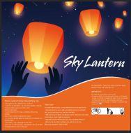 Sky Lantern (Assorted Colors)