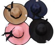 42 cm Lady Hat w/Ribbon