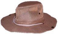 Plain Color Safari Hat 59 cm