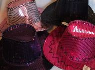 Sequin Youth Cowgirl Hat
