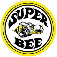 """15"""" Dome Sign """"Super Bee"""""""