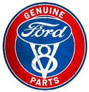 """15"""" Dome """"Ford Parts"""""""