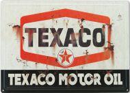 "12x17 Metal Sign ""Texaco, Vintage"""