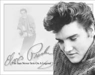 Elvis B&W