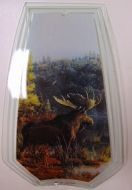 Moose Touch Lamp Glass